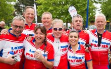 Westbridge Team completes London to Paris challenge.